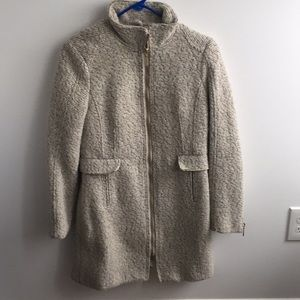 H&M fitted tweed coat
